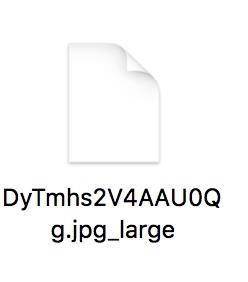 拡大させてから画像をダウンロードすると、ひと手間かかるの説明用スクリーンショット②